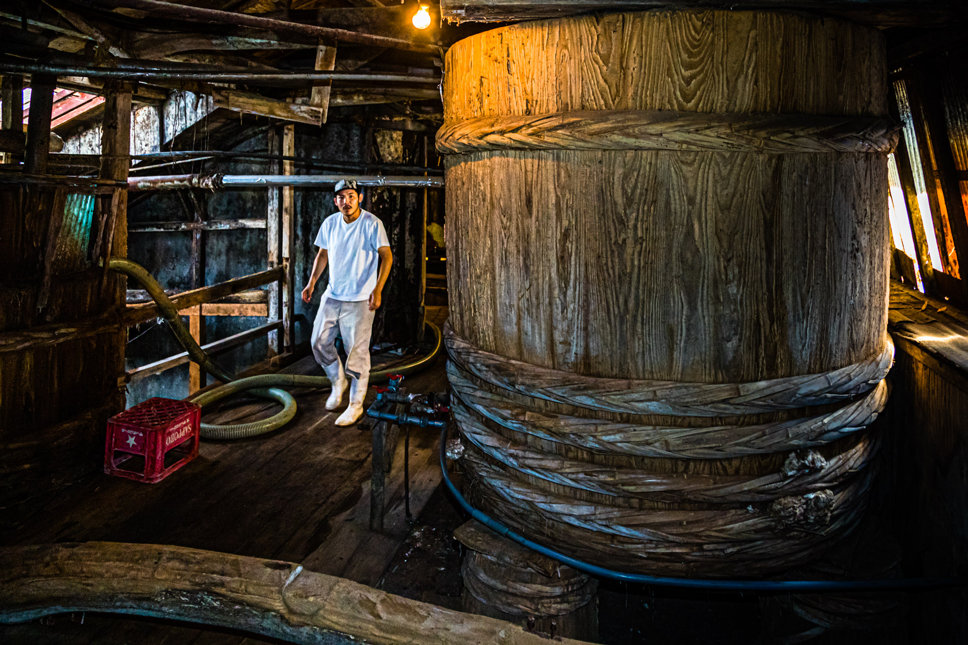 Soy Sause factory in Hamamatsu, Japan